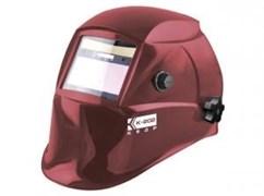 Сварочная маска Кедр К-202 (в разобр. виде) красная