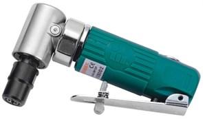 Пневматическая угловая бормашина Jonnesway 124 мм с насадками, 15 предметов JAG-0913FMK