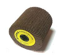 Лепестковый шлифовальный валик GLOB SYSTEM KOMBI грубое зерно 80