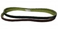 Абразивная шлифовальная лента GLOB SYSTEM 10х550; Р180 на нетканой основе