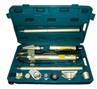 Набор двухскоростного гидроинструмента Jonnesway 10 т, 18 предметов AE010015