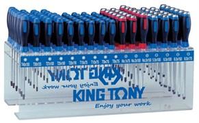 Стенд с силовыми отвертками и отвертками Torx, 96 предметов King Tony 31516MR