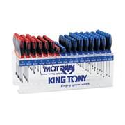Стенд с отвертками, 96 предметов King Tony 31416MR