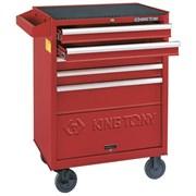 Набор инструментов в красной тележке, 161 предмет King Tony 932-005MR