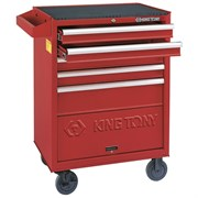 Набор инструментов в красной тележке, 173 предмета King Tony 932-000MMR