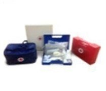 Аптечка первой медицинской помощи работникам, в пластиковом футляре Ампаро 103001