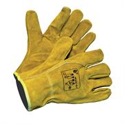 Спилковые зимние перчатки Куба Фрост Ампаро 420403