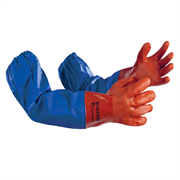 Химостойкие перчатки с нарукавниками Петро 690 Ампаро 436690