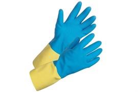 Химостойкие комбинированные перчатки Комета-Экстра Ампаро 457515