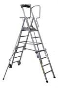 Телескопическая лестница с платформой Centaure PL4 SCOP 4/7 413924