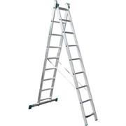 Двухсекционная лестница-стремянка iTOSS Eurostyl 2x13 7513