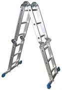 Алюминиевая лестница трансформер LWI 4x4 И-744