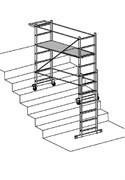 Опора для работы на лестнице вышки-туры Faraone Pontal 2000 PONTAL S
