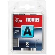 Тонкие cупертвердые скобы для степлера Novus тип 53 А 53/8S 2000 шт