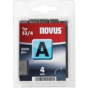 Тонкие скобы для степлера Novus тип 53 А 53/4 2000 шт