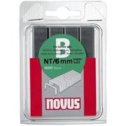 Тонкие скобы для степлера Novus тип NT В NT/6 1600 шт