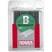 Тонкие cупертвердые скобы для степлера Novus тип NT В NT/12S 800 шт