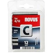 Узкие скобы для степлера Novus тип 4 C 4/12 1100 шт