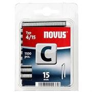 Узкие скобы для степлера Novus тип 4 C 4/15 1100 шт
