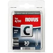 Узкие скобы для степлера Novus тип 4 C 4/30 1100 шт