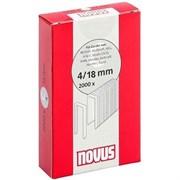 Узкие скобы для степлера Novus тип 4 C 4/18 2000 шт