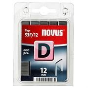 Плоские скобы для степлера Novus тип 53F D 53F/12 600 шт