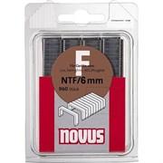 Плоские скобы для степлера Novus тип NTF F NTF/6 960 шт