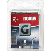 Плоские скобы для степлера Novus тип 11 G 11/8 1200 шт