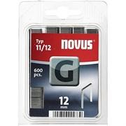 Плоские скобы для степлера Novus тип 11 G 11/12 600 шт