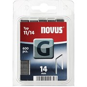 Плоские скобы для степлера Novus тип 11 G 11/14 600 шт