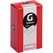 Плоские скобы для степлера Novus тип 11 G 11/8 5000 шт