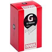 Плоские скобы для степлера Novus тип 11 G 11/10 5000 шт