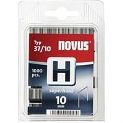 Тонкие супертвердые скобы для степлера Novus тип 37 H 37/10S 1000 шт