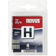 Тонкие супертвердые скобы для степлера Novus тип 37 H 37/4S 2000 шт