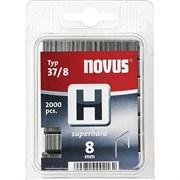 Тонкие супертвердые скобы для степлера Novus тип 37 H 37/8S 2000 шт