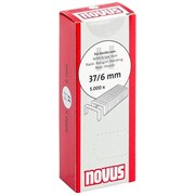 Тонкие супертвердые скобы для степлера Novus тип 37 H 37/6S 5000 шт