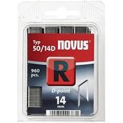 Плоские скобы для степлера Novus тип 50 R 50/14D 960 шт