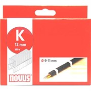 Круглые кабельные скобы для степлера Novus тип К 9/11 350 шт