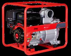 Мотопомпа Fubag PG 1800 T для сильнозагрязненной воды