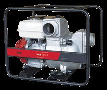 Мотопомпа Fubag PTH 1600Т для сильнозагрязненной воды