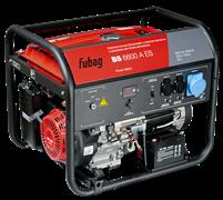 Бензиновая электростанция Fubag BS 6600 A ES с электростартером и коннектором автоматики