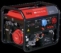 Бензиновая электростанция Fubag BS 8500 XD ES с электростартером и одинаковой выходной мощностью