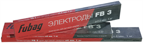 Сварочные электроды Fubag FB 3 D=2.5 мм, пачка 1 кг