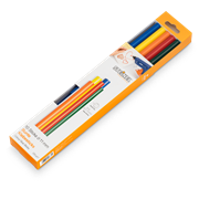 Цветные клеевые стержни Steinel 11x250мм 250г, 10шт