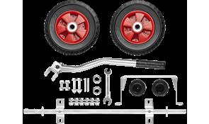 Комплект колес и ручек для генераторов Зубр ЗЭСБ-РК-2