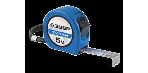 Рулетка ЗУБР Профи Титан, 5м х 25мм 34058-05-25