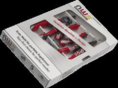 Комбинированный набор ручного инструмента 3 предмета NWS 775