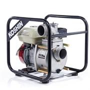 Бензиновая мотопомпа Koshin STH-80X для средне-загрязненной воды