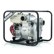 Бензиновая мотопомпа Koshin KTH-100X o/s для сильнозагрязненной воды