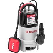 Погружной насос Зубр для грязной воды ЗНПГ-400